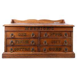 Merrick Thread Co. Oak Thread Counter Top Case
