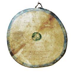 Wounded Knee Massacre Memorial Drum c. 1900 RARE