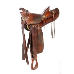 Heiser Denver, Colorado Custom Western Saddle