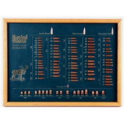 Nosler Trophy Grade Bullet Display