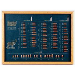 Nosler Trophy Grade Bullet Display