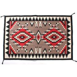 Navajo Ganado Pattern Style Large Wool Rug