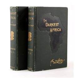 In Darkest Africa by H.M. Stanley First Ed. 1890
