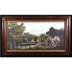 Signed Original Dorothy King Landscape Painting