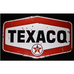 Gas Station Texaco Porcelain Sign Avon, Montana