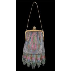 1920's Whiting & Davis Co. Mesh Flapper Purse