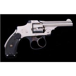 S&W .32 Safety Hammerless 2nd Model Revolver