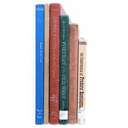Old West History, Artists & Indian Chiefs Books