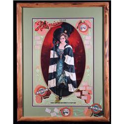 Rainier Beer Marie Doro Advertising Poster
