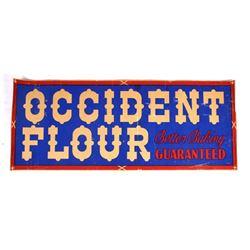 Occident Flour Advertising Sign Butte Montana