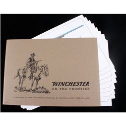 Signed Winchester on the Frontier by Fred Fellows