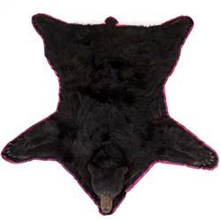 Montana Taken Taxidermy Black Bear Full Body Rug
