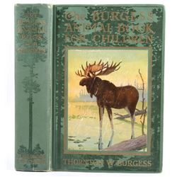 The Burgess Animal Book for Children First Edition