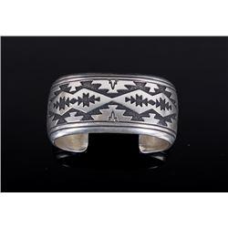 Thomas Singer Navajo Sterling Silver Bracelet