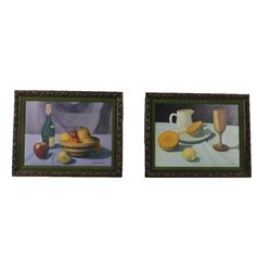 Two Original G.C. Wentworth Oil Paintings