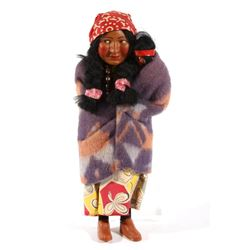 Original Skookum Indian Doll with Papoose