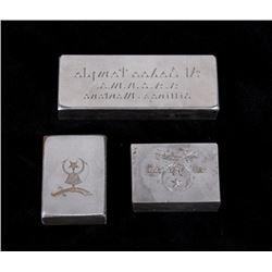 Billings Montana Al Bedoo Shrine Temple Stamps