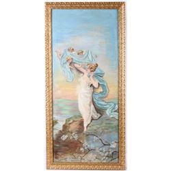 Original Oil Painting; Snook Art Company