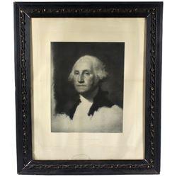 20th Century George Washington Portrait