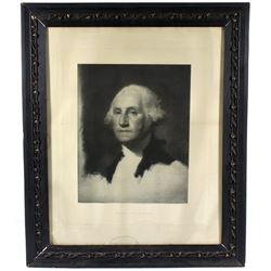 20th Century George Washington Portrait