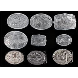 Collection of Commemorative Belt Buckles