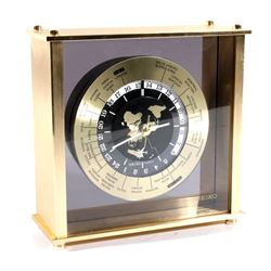 1980's Seiko Quartz 24 Hour World Clock
