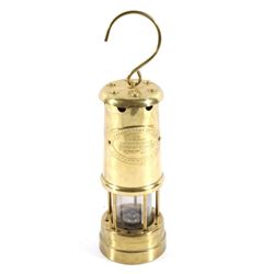 Welsh Aberaman Colliery Coal Miners Safety Lamp