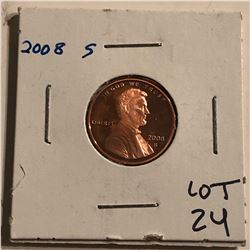 2008 S PROOF Lincoln Penny High Grade