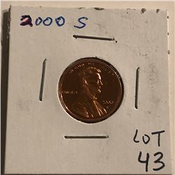 2000 S PROOF Lincoln Penny High Grade