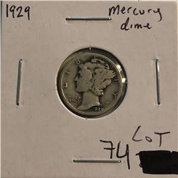 1929 P Roosevelt Silver Dime Nice Early US Coin