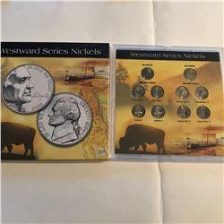 2004 2005 Westward Series Nickels Set New Never Opened in Package