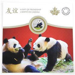 .9999 Fine Silver Panda Coin Gift Folio