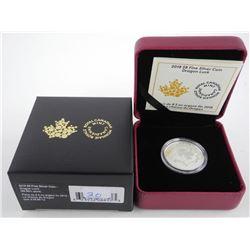 2017 .9999 Fine Silver $8.00 Coin 'Dragon Luck' Lo