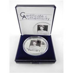 925 Silver $5.00 'Sophia Loren' Proof Hollywood Le