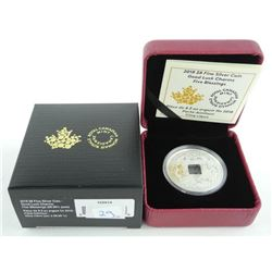 2018 .9999 Fine Silver $8.00 Coin 'Gold Luck Charm
