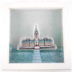 .9999 Fine Silver Sculpture Parliament Buildings 1