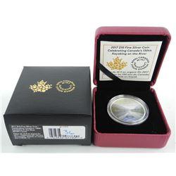 2017 .9999 Fine Silver $10.00 Coin 'Canada's 150'