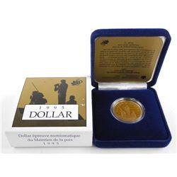 1995 Proof Dollar Peacekeeping