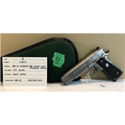 COLT, MK IV SERIES 80 GOLD CUP NATIONAL MATCH, 45 AUTO
