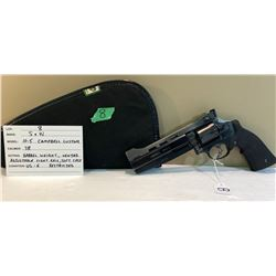 SMITH & WESSON, MODEL 10 - 5 CAMPBELL CUSTOM, COMBAT .38