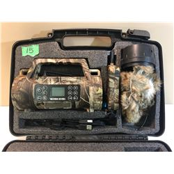 MAESTRO MP3 GAME CALL WITH REMOTE & RABBIT DECOY - AS NEW