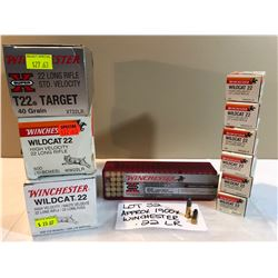 AMMO:  APPROX 1900 X WINCHESTER .22 LR