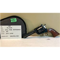 RUGER, NEW MODEL BLACKHAWK, .45