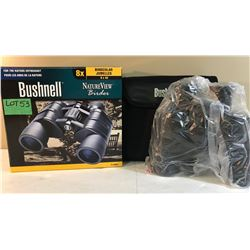 BUSHNELL 8 X 40 BINOCULARS - AS NEW