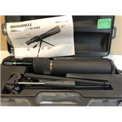BUSHNELL 12 - 36 X 50 SCOPE WITH HARD CASE & TRIPOD
