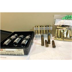 EVANS .44 L AMMO / BRASS / DIES LOT
