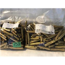 BRASS:  239 X .30 - 06 ONCE FIRED