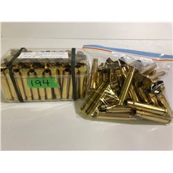 BRASS:  143 X .303 BRITISH ONCE FIRED