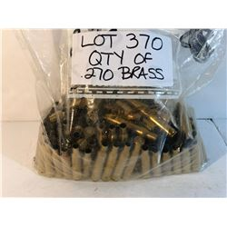BRASS: LARGE QTY OF .270