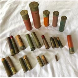 COLLECTION OF AMMO CASINGS